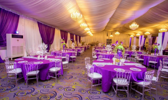 event centres in lagos prices